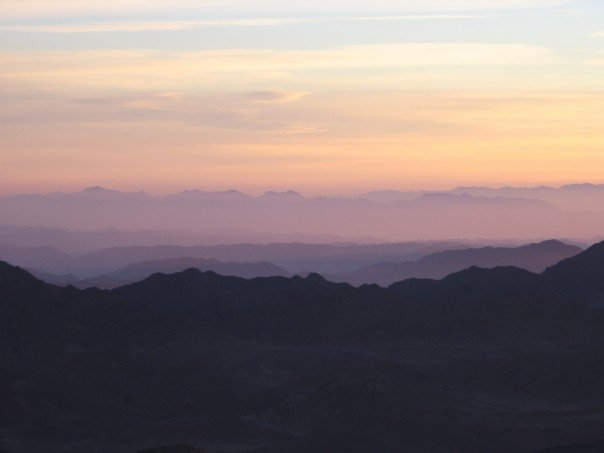 sunrise from Mount Sinai2